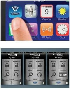 Genuine Ford Vehicle Security Remote Access App Dl3z 19a390 b