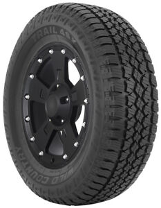265 65r18 114 0t Blk Multi mile Wild Country Trail 4sx Tires