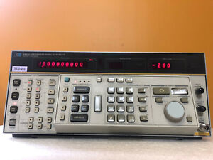 Hp Agilent 8662a 10 Khz To 1280 Mhz Synthesized Signal Generator Tested