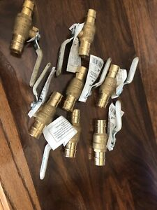 7 Pack Proflo Propex Expansion Lead free Brass Ball Valve 3 4