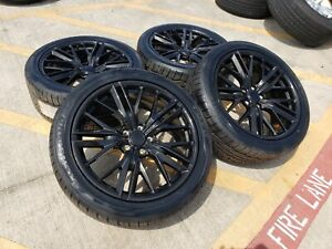 20 Chevy Camaro Ss Oem Staggered Wheels Rims Tires Replica 2018 2019 5773 5774