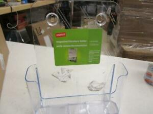 Magazine File Holders Clear 8 Total Clear Wall Mountable