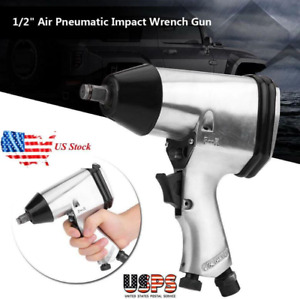 Us 1 2 Air Pneumatic Impact Wrench Gun Removal Installation Tools W Us Adapter