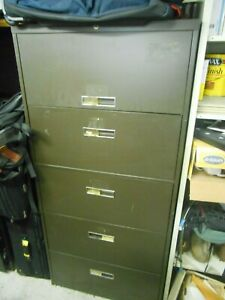 5 Drawer Lateral File Cabinet 30 Wide 65 Tall