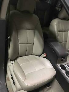 2007 Lincoln Mkx Leather Bucket Power Heated Cooled Right Seat Greystone bg