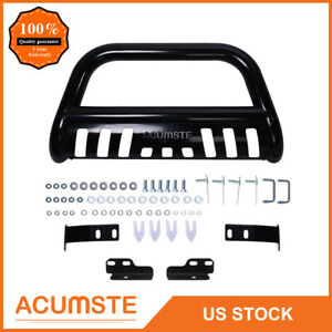 Bull Bar For 04 18 Ford F150 03 17 Expedition Black 3 Push Bumper Grille Guard