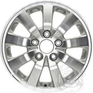 New Set Of 4 16 Alloy Wheels Rims And Centers For 2005 2010 Honda Odyssey