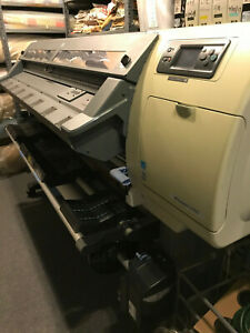 Two used Hp Designjet L25500 Wide Format Latex Printer 60 Inch