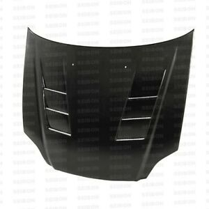 Seibon Ts Style Carbon Fiber Hood For 1999 2000 Honda Civic