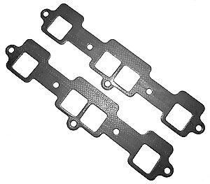 Oldsmobile Ultimate Exhaust Gaskets For Aluminum Heads 330 350 403 400 425 455