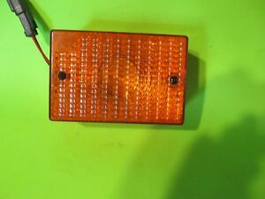Cat 3e6466 Lamp Genuine Caterpillar Signal Lamp Assembly 3e 6466 Nos Amber