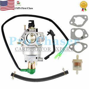 Fit Champion 100231 389cc 5000w 5500w 6250w 6900w Dual Fuel Generator Carburetor
