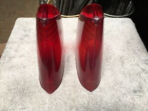 1956 Chrysler 300 B Newyorker Windsor Tail Brake Light Lights Lens Mopar