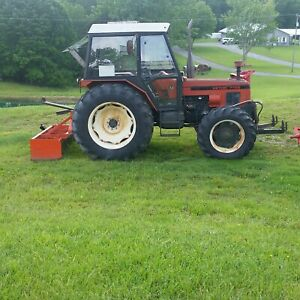7745 Zetor 4wd Tractor With 150 Actual Hours 150 Hours Total Time In Use