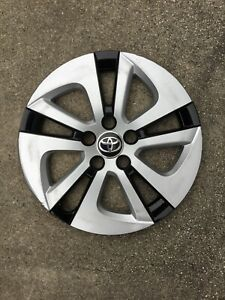 Toyota Prius Silver Black Wheel Cover 2016 2018 Model