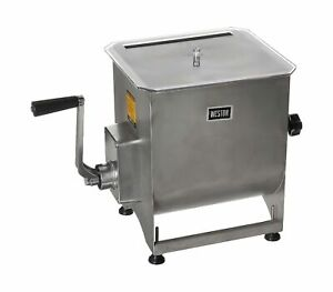 Weston Stainless Steel Meat Mixer 44 pound Capacity 36 2001 w Removable M