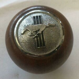 Nos Vintage Ford Wooden Shift Knob Cal Custom Classic Mustang Fastback