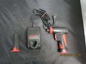 Snap On Cordless Screwdriver Cts561cl With Two Batteries And Charger Tested Wor