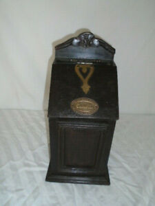 Excellent Liverpool Candle Box Wall Box Established 1875