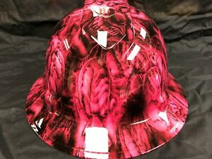 New Full Brim Hard Hat Custom Hydro Dipped Pink Candy Boss Free Shipping