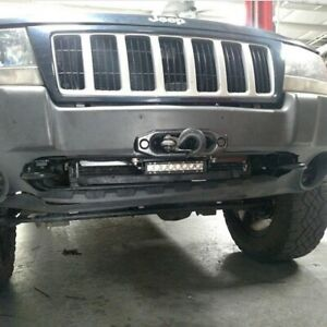 Jeep Grand Cherokee Wj Hidden Winch Mounting Plate
