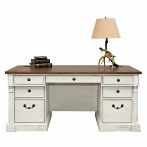 Martin Home Furnishings Durham 66 In Executive Desk