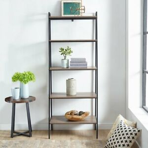 Manor Park Urban Industrial Ladder Bookcase
