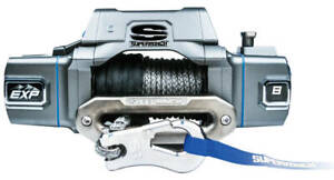 Super Winch Exp8si 8000 Lb Winch Syn Thetic Rope Hawse