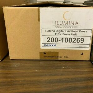 Xante Ilumina Digital Envelope Press 110v Fuser Unit 200 100269 Used