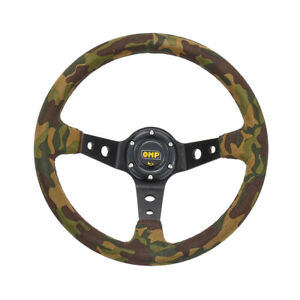 6 Bolt Aluminum Racing Steering Wheel Pvc Sports Drifting Wheel Camouflage