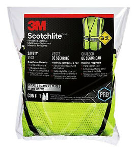 3m Safety Vest Yellow 94617 80030