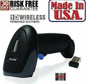 Handheld Wireless And Wired Usb Barcode Scanner Inventory Laser Bar Code Reader