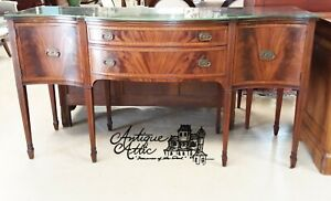 Antique American Mahogany Sideboard Server Berkey Gay Hepplewhite Sheraton