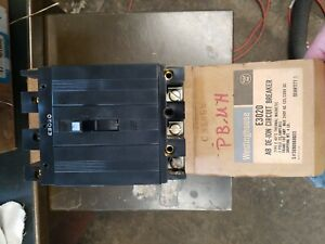 Westinghouse E3020 Circuit Breaker W 220 Volt Shunt Trip New In Box 20 Amp