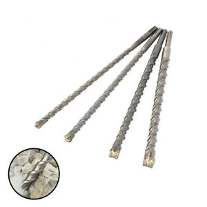 350mm Rotary Hammer Drill Bit Sds Plus Bits Set For Drilling Concrete Wall 5pcs