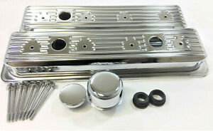 1987 00 Chevy Gmc 305 5 0 350 5 7 Dress Up Kit Valve Covers Center Bolt Chrome