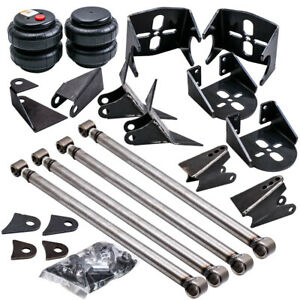 Triangulated 4 Link Kit Brackets 2500 Bags Air Ride Suspension 2 75 Axle New