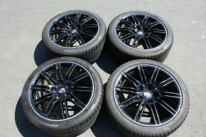 21 Porsche Cayenne Turbo Wheels Winter Tires Pirelli Scorpion 295 35 R21 Oem