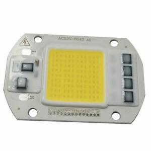 100x 50w 110v Driver Free Led Cob Chip Lamp Light Warm White 3000 3200k