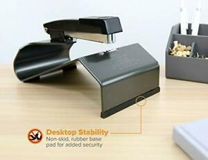 Long Arm Stapler Paper Booklet Desk Extended Deep Reach Handle Throat Metal Book