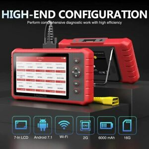 Launch Auto Obd2 Scanner Cr8001 Car Code Reader Epb Abs Srs Oil Reset Diagnostic