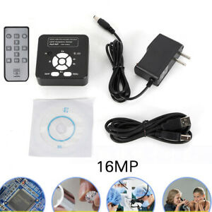 Microscope 16mp Hdmi Usb Industry 1080p Camera Digital C mount Video Recoder Set