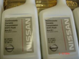 Nissan Cvt Transmission Fluid Ns 2 4 Quarts Oe 999mp cv0ns2