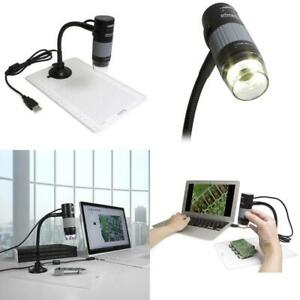 Usb 2 0 Digital Microscope With Flexible Arm Observation Stand For Windows Mac