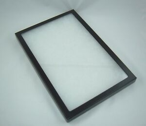 One Jewelry Display Cases Riker Mount Display Shadow Box Collection 8 X12 X 7 8