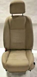 2005 Ford Mustang Left Driver Bucket Seat Tan Emblem Logo Fabric free Shipping