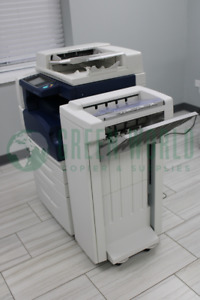 Xerox Workcentre 5955 Multi function Printer W Office Finisher 55ppm Meter