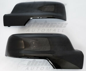 Gloss Black Clip On Replacement Mirror Covers For 2019 2020 Dodge Ram 1500 New