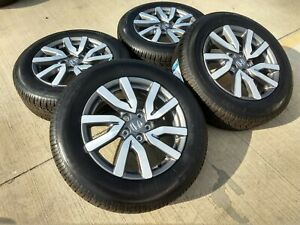 18 Honda 2019 Pilot Ridgeline Oem Elite Black Wheels Rims Tires 2018 18080e