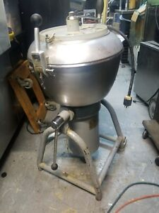 Hobart Vcm 40 Vertical Cutter Mixer Chopper Pizza Dough Hummus Dicer Chopper